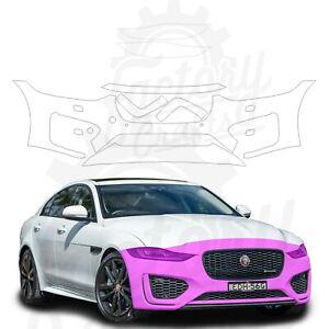 Paint Protection Film Clear PPF for Jaguar XE 2020 Bumper & Light