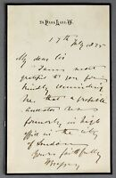1875 | Thomas Brassey famous sailor on SUNBEAM + governor of victoria australia