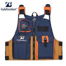 Men Fishing Life Jacket Jackets Kayak Life Vest Safety Drifting Boating PFD