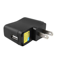 AC 110V-240V to DC 5V 500mA USB to 2 Pin US Plug Power Adapter Charger LW