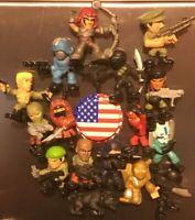 3D G.I. Joe Fridge Magnet Lot Handcrafted 👻🧲 (4) 2~Cool~4~School