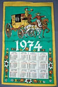 Kalender von 1974 Geschenk 50. Geburtstag Jubiläum Hochzeitstag Bild 70er 70s