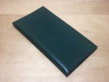 ROLEX - Cuir Case avec Ordinateur portable - Housse Bloc de Notes - Vert Green