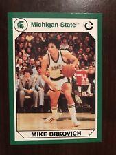 1990 Michigan State Spartans Collegiate Collection 200 #122 - Mike Brkovich