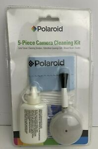 Polaroid 5 Piece Camera/Camcorder Deluxe Cleaning Kit Lens Tissue Cleaning Cloth