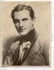 Movie Actor Trade Card of Joseph Schildkraut, Austrian-American Stage & Film
