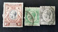 KENYA UGANDA & TANGANYIKA 1922 -1935 Stamps