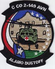 US Army C Co 2-149 AVN Aviation  Alamo Dustoff Vietnam Helicopter Patch @