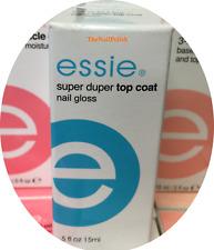 ESSIE Nail Treatment SUPER DUPER TOP COAT Quick Fast Rapid Dry 0.5oz = 14ml