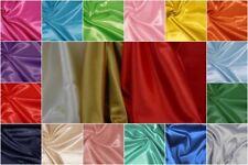 Tessuto raso satin lucido 100% poliestere il prezzo è riferito a cm. 50 x 150