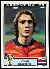 Argentina 78 Johan Neskens #123 World Cup Story Panini Sticker (C350)