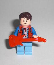 LEGO Zurück in die Zukunft - Marty McFly mit Gitarre - Figur Minifig 21103 71201