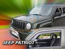 Wind deflectors JEEP PATRIOT 5-doors 2006-2016 2-pc HEKO Tinted
