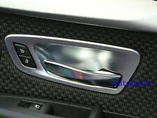 4PCS Matt Chrome Interior Door Handle Cover Trim BMW F45 2 SERIES Active Tourer