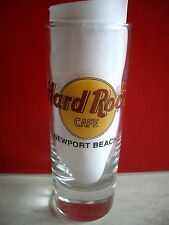 HRC Hard Rock Cafe Newport B. Classic Logo Black Letter Shot Glass Schnapsglas