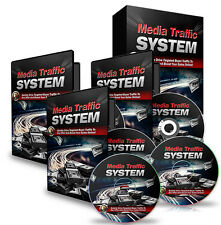 Media Traffic System + 10 Free eBooks ( PDF ) all delivered on a CD