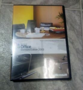 Microsoft Office 2003 Standard (Retail) (1 User/s) - Full Version for Windows