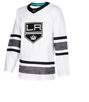 Authentic Adidas NHL Los Angeles Kings Parley Hockey Jersey New Mens Sizes