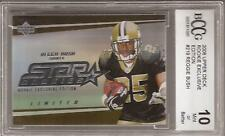 REGGIE BUSH 2006 Upper Deck Rookie Exclusive Edition BCCG 10 Graded