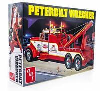 AMT Peterbilt 359 Wrecker Model Kit - 1/25 Scale Buildable Tow Truck