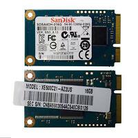 Laptop SanDisk Mini SSD mSATA 16GB Solid State Drive P/N SDSA5DK-016G Random