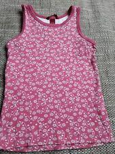 Ärmellose Mädchen-Tops, - T-Shirts aus 100% Baumwolle