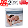 Mattress Cover Protector Waterproof Pad Full Size Bed Cover Hypoallergenic Pad