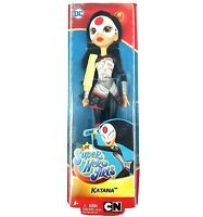 "DC SuperHero Girls Katana The Samurai 11"" to 12 inch Action Figure Doll, Toys"