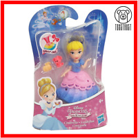 Cinderella Mini Figure Disney Princess Little Kingdom Small Toy Snap-In Doll