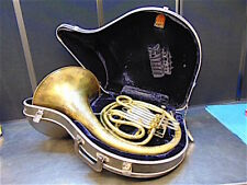 Bassador French Horn With Good Mouth Piece & Nice Case - Tested Good - S3021