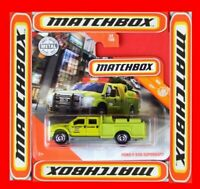 MATCHBOX 2020   FORD F-550 SUPERDUTY   22 /100   NEU&OVP