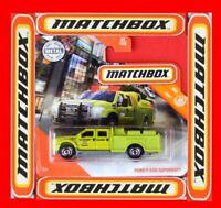 MATCHBOX 2020   FORD F-550 SUPERDUTY   22 /100   NEU&OVP