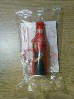 NEW!  Coca-Cola®  Keychain  Mini ALU Bottle - Contour Bottle Celebrates 100 year
