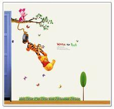 Disney Winnie The Pooh Wall Stickers Decor Vinyl Decal Kids Nursery Removable