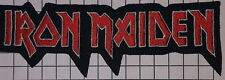 #578 IRON MAIDEN Rock Punk Music Band Logo Iron on sew on embroidered patch