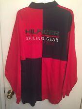 Tommy Hilfiger Sailing Gear Long Sleeve Deck Swearshirt Vintage Xl