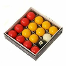 "Oypla Full Size UK Regulation 16 Red and Yellow Pool Ball Set 2"" - (5060544754420)"