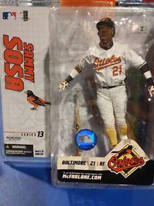 Sammy Sosa McFarlane MLB Series 13 Baltimore Orioles VARIANT FIGURE!!