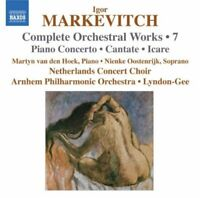 Martyn Van Den Hoek - Markevitch: Orchestral Works Vol. 7 - Piano [CD]