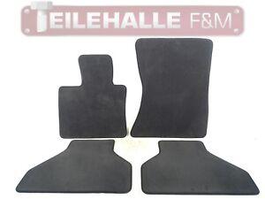 BMW E70 X5 Fußmatten Velours anthrazit schwarz Satz vorne hinten links rechts