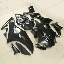 Unpainted Black Injection Fairing Cowl Kit Bodywork For YAMAHA YZF R6 2006-2007