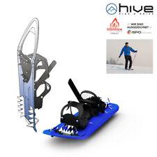 Schneeschuhe zum Abgleiten hive Nivatus blau Schneeschuh mit Gleitfunktion NEU