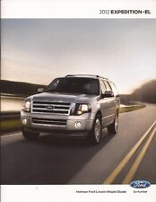 2012 12 Ford  Expedition + EL  original Sales  brochure