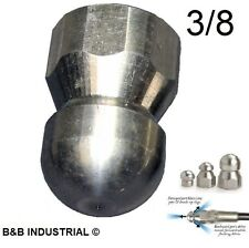Arandela de Alimentación de Presión Suttner ST458 Dirt Blaster giratorio boquilla turbo jet cabeza