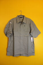 New with Tag Rocawear button down short sleeve grey dress shirt men's XL $64