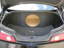 """ZEnclosures Subwoofer Box for the Infiniti G35 Coupe 1-12"""" Speaker Box G35 New!"""