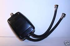 Antenna matching transformer 75 to 75/75 ohm UHF VHF FM lead splitter