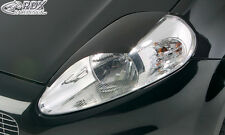 RDX Scheinwerferblenden FIAT Punto Evo Grande Punto Böser Blick Blenden Spoiler