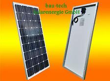 100 Watt Mono  SOLARPANEL PHOTOVOLTAIK  PV Modul, Paneel Solar Zelle Platte NEU