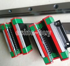 2x HGW15--1000mm Linear Rail &HGW15CC &SFE1616--1000mm Ballscrew&BF12/BK12 Kit